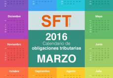 calendario obligaciones tributarias marzo 2016