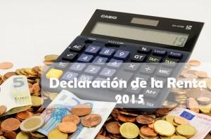 claves para elaborar la declaración de la renta 2015